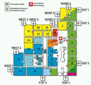CeBITS's floorplan