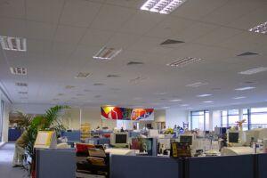 Hertz call centre in Dublin, Ireland